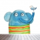 Olifant design behang voor uw babykamer