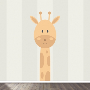 Giraffe (neutraal) behang voor uw babykamer