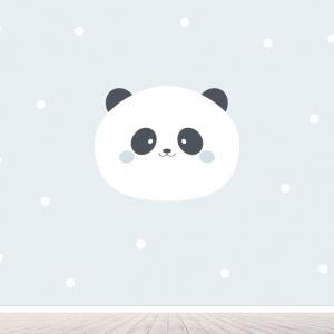 Panda (jongens) behang voor uw babykamer